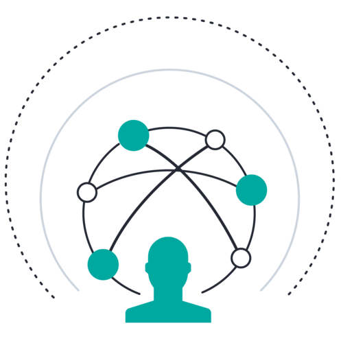 Avatar circles connectors