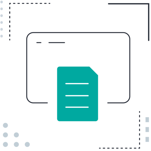 Document screen