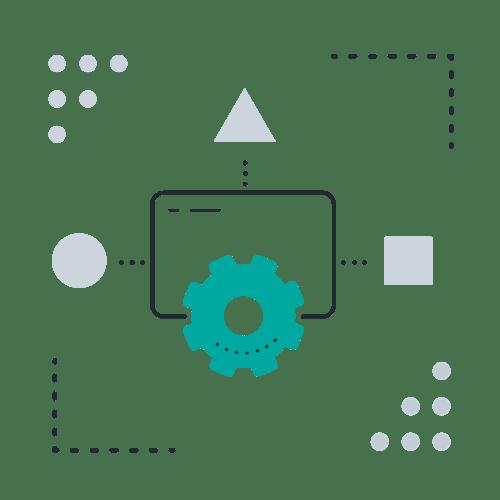 Shapes screen cog