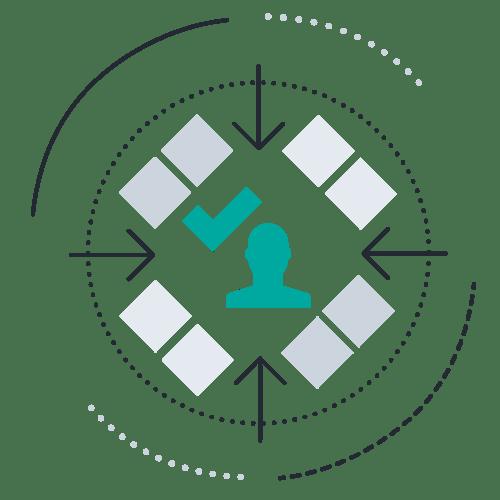 Box avatar arrows