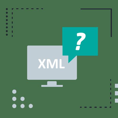 Desktop xml question mark